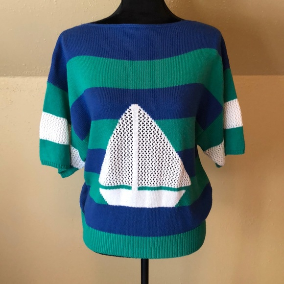 Catalina Crew Sailboat Sweatshirt
